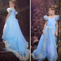 Children's Princess Dress Wedding Party
