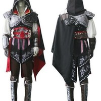 Assassin's Creed 2 Cosplay Costume (Email us your size using the size chart below)