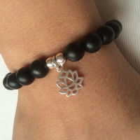 Lotus Complemented Bracelet
