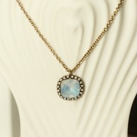 A Touch Of Shimmer Necklace-Opal