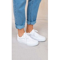 Vans Old Skool Classics All White Sneaker White