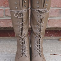 Join the Ranks Boot - Taupe