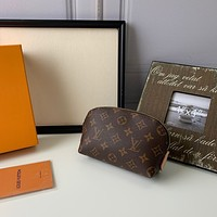 LV Louis Vuitton MONOGRAM CANVAS COSMETICS HOLDER BAG