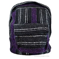 Mexican Baja Explorer Backpack Purple on Sale for $19.99 at The Hippie Shop