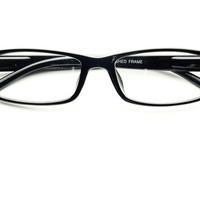 Clear Lens Reading Style Glasses in Black T061   FREYRS - Sunglasses at Affordable Prices