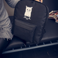 Casual Comfort On Sale Hot Deal Stylish College Back To School Korean Fashion Cats Backpack [6583114055]