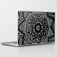 Tripped Out Snowflake Laptop & iPad Skin by Brenna Whitton