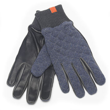 Leather Quilted Touch Screen HONNS Glove