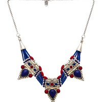 Karen London Phoenix Necklace in Silver