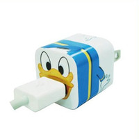 Disney Iphone Charger USB Skin Sticker Wrap -Sticker Only Not Include Charger (Donald Duck)