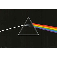 Pink Floyd Dark Side of the Moon Prism Poster 24x36