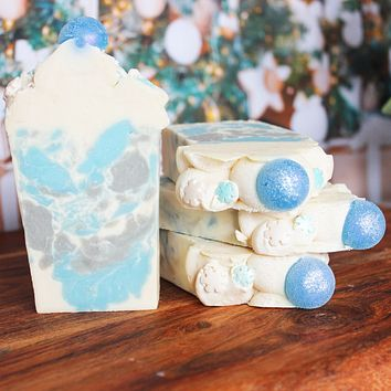 Frosted Snow Soap Bar Soap Bar