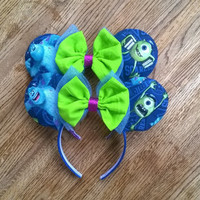 Monsters Inc Inspired Mouse Ears