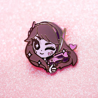 OVERWATCH D.VA ENAMEL PIN