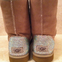 Swarovski Crystal Embellished Classic Tall UGG Boots - Winter/Holiday 2013