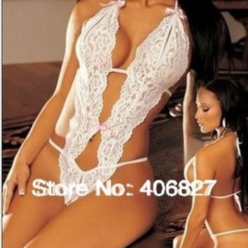 039,Adult sexy lingerie lace bodysuits sleepwear pajamas langerie erotic uniform underwear vetement leotard intimates = 1931870724