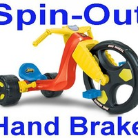 """The Original Big Wheel """"Spin-Out"""" Racer 16"""" Trike"""