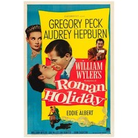 """Roman Holiday"" Film Poster, 1953"
