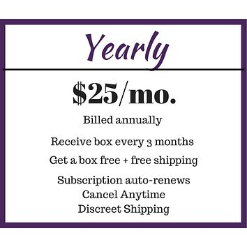 Yearly Subscription Box