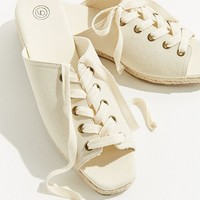 Alix Lace-Up Espadrille Sandal   Urban Outfitters