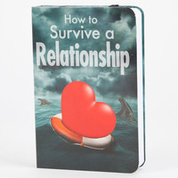 Barbuzzo How To Survive A Relationship Book Flask Multi One Size For Men 25108195701