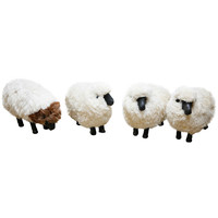 Vintage Sheep in the Style of Lalanne