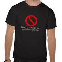 I Hate This Place Men's Tee