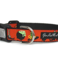 Bewitched Halloween Dog Collar