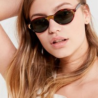 Vintage Cecily Oval Sunglasses | Urban Outfitters