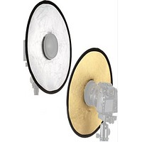 """12"""" Inch Portable Round Camera Lens Beauty Reflector PRBR2"""