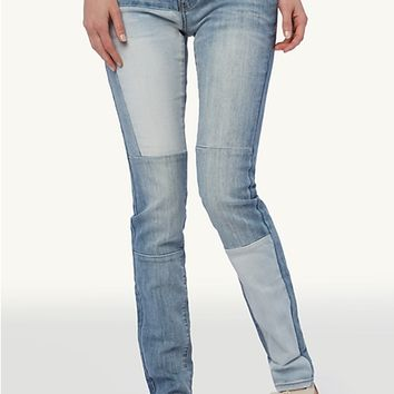 Patched Piece Super Skinny Jean