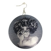 My Roots Natural hair earrings | Afrocentric accessories | jewelry | ear candy
