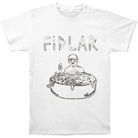 Fidlar Men's  Ashtray T-shirt White