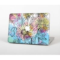 The Colorful WaterColor Floral Skin for the Apple MacBook Air 13""