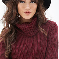 Cowl Neck Fisherman Sweater - Shop All - 2000119792 - Forever 21 EU