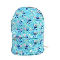 "Student Backpack Children Lilo&Stitch Aniwe Canvas Backpack Zipper Printing Backpacks For Teenage Girls School Bag Women Travel Bag 12"" 15"" Students Bag AT_49_3"