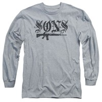Sons Of Anarchy - Worn Son Long Sleeve Adult 18/1
