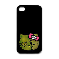 Zombie Hello Kitty iPhone 4/4S Case Made to Order