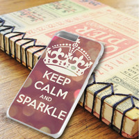 Keep Calm And Sparkle iPhone 6 Plus | iPhone 6S Plus Case