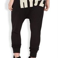 Baggy Harem Pant with Hype Screen on Back