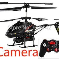 WLtoys S977 drone 3.5CH Alloy Video Shooting RC Helicopter with camera With original box free shipping