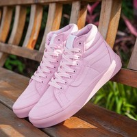 Best Online Sale Vans Sk8-Hi Pink 50th Anniversary Commemorative Section Sneakers Casual Shoes