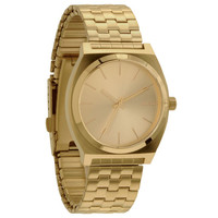 Nixon The Time Teller Watch All Gold/Gold One Size For Men 20297862101