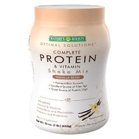 Optimal Solutions¨ Complete Protein & Vitamin Vanilla Shake Mix - 16 oz