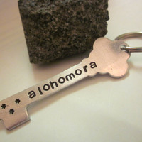 Harry Potter Key Shaped Alohomora Hand by LaurenElaineDesigns