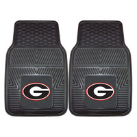 Georgia Bulldogs NCAA Heavy Duty 2-Piece Vinyl Car Mats (18x27)