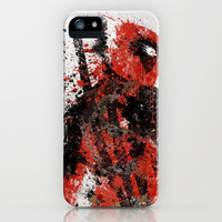 Deadpool iPhone & iPod Case by Melissa Smith