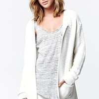 Roxy Winter Frost Open Front Cardigan - Womens Sweater