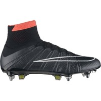 Nike Men's Mercurial Superfly SG Pro Soccer Cleat - Black/Red   DICK'S Sporting Goods