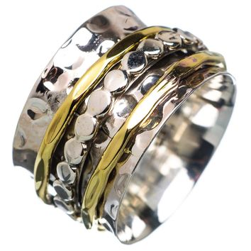 Spinner Ring - Two Tone Circle Spinner